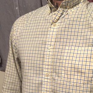 J. Crew Tailored fit, Vintage Oxford
